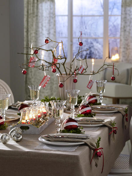 301 moved permanently Christmas decorations for the dinner table